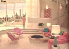 80s Interior Design, Mid-century Interior, Interior Architecture, 1980s Interior, Sunken Living Room, Living Vintage, Art Deco, Vintage Interiors, Retro Home Decor