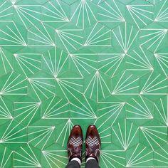 "ladyinterior: "" Colorful Photos Capture the Beautifully Diverse Floor Patterns of London, Sebastian Erras "" Floor Patterns, Tile Patterns, Textures Patterns, Pretty Patterns, Surf, My Art Studio, Hidden Treasures, Mosaic Designs, Floor Design"