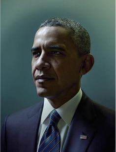 Obama by Nadav Kander