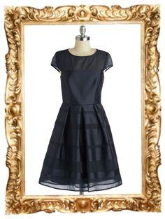 Navy It's Love Dress - $137.99 #fashion