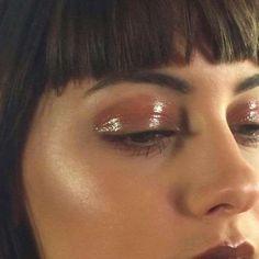 Trucco glossy eyes effetto bagnato - Glossy Eyes nude