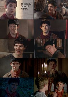 Merlin's faces. I'm just going to use Colin Morgan to reply to things now.