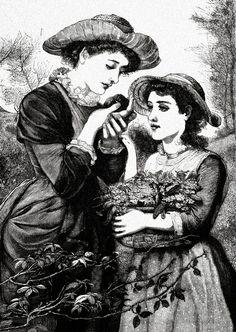 DLDgraphix by nancy: Free Vintage Graphics Vintage Pictures, Vintage Images, Decoupage, Retro, Digi Stamps, Vintage Black, Vintage Graphic, Flower Pictures, Female Images