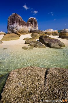Rock formation in Belitung