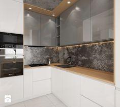 Mieszkanie Bemowo - Kuchnia, styl nowoczesny - zdjęcie od Kameleon - Kreatywne Studio Projektowania Wnętrz