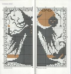 Gallery.ru / Фото #66 - The world of cross stitching 19+Sticher's Diary 2013 - tymannost