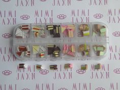 60pc Polymer Clay Cakes & Pies Miniatures Decoden DIY by MIMIJAXN, $17.00