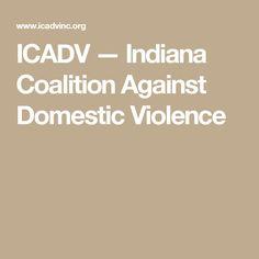 ICADV — Indiana Coalition Against Domestic Violence