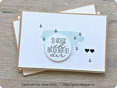 Stampin'Up! Karte Jubiläum Hochzeit Freundschaft selbermachen