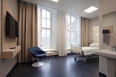 Pohjola Sairaala interior. Design by Aivan.