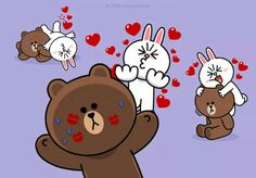 Cony ❤ Brown