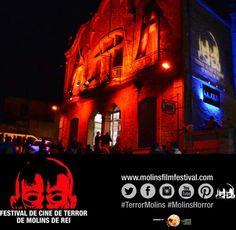 Avui presentem les pellícules el cartell les novetats i les sorpreses del #terrormolins 2015. Estigueu atents a les xarxes! #molinshorrorfestival