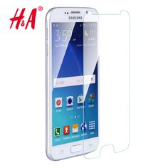 Premium Real Tempered Glass Film For Samsung GALAXY S7 S6 S5 S4 S3 Screen Protector protective case cover +clean kits