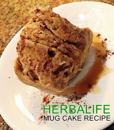 Herbalife Mug Cake Recipe 182 calories and 17G of protein.