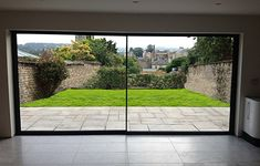 Ultraline doors – sightline – UK made ! 4 to 6 week lead time. Just think o… Ultraline doors – sightline – UK made ! 4 to 6 week lead time. Just think of that view ! Aluminium Sliding Doors, Sliding Patio Doors, Sliding Glass Door, Glass Doors, Folding Doors, Entry Doors, House Extension Design, Garden Doors, Back Doors