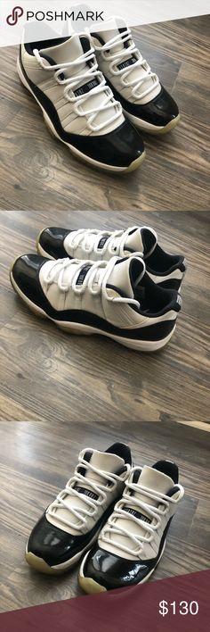 more photos a64d3 4f302 Air Jordan 11 Retro Low Air Jordan 11 Concord Retro Low Size  10.5 Color   White   Black Jordan Shoes Sneakers