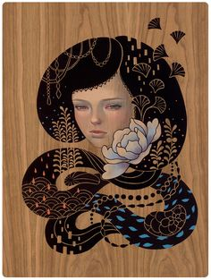 Audrey Kawasaki // Cocoon, Midnight Reverie, 2012