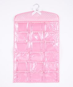 Pink 36-Pocket Hanging Nursery Organizer