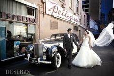 www.tripler.com.au Our Rolls Royce Silver Dawn in the melbourne CBD.  #weddings #weddingcars #weddingcarsmelbourne #rollsroyce #pelligrinis #melbourne #classiccars