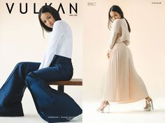 American actress and model Karrueche Tran super gorgeous in Le Silla silver heels in a lovely interview for Canadian Vulkan Magazine. www.lesilla.com #lesilla #inthepress