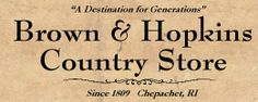 Brown & Hopkins Country Store -- A Destination for Generationss