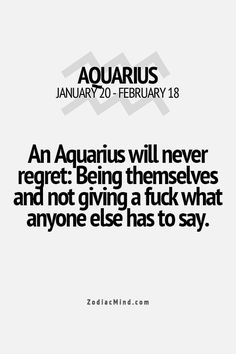 Zodiac Mind - Your source for Zodiac Facts Aquarius Traits, Aquarius Love, Aquarius Quotes, Aquarius Horoscope, Aquarius Woman, Age Of Aquarius, Zodiac Signs Aquarius, Zodiac Mind, Zodiac Facts