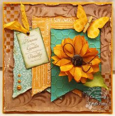 A Touch of Gold - Cec Wintonyk - CW Card Creations