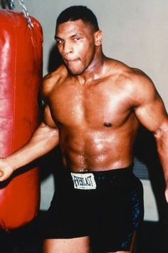 Mike Tyson Bare Chested Training Boxing Gym Punch Bag Mini Poster for Like the Mike Tyson Bare Chested Training Boxing Gym Punch Bag Mini Poster? Boxing Gym, Boxing Training, Boxing Workout, Mike Tyson Boxeo, Mike Tyson Mysteries, Boxing Images, Weekly Workout Routines, Macho Alfa, Boxing Posters