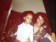 rawsheathot: I'm at my great grandmother's house going through the photo albums & I forgot that she knew Aaliyah's father & grew up around him. Look at baby Aaliyah
