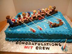Rowing Boar Idea Cake