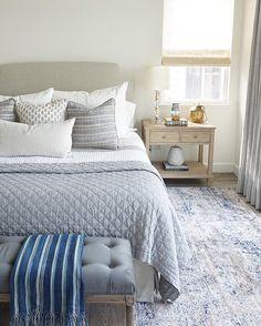 Kathryn Miller Interiors Master Bedroom with neutrals Best Sheets, Comforters, Master Bedroom, Neutral, Blanket, Interior Design, Furniture, Interiors, Home Decor