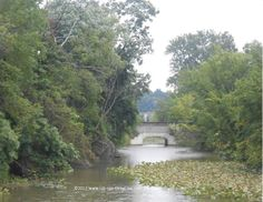 Scenic views along the Ohio & Erie Canal Towpath Trail.