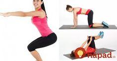 10 minút denne, 30 dní: Týchto 7 jednoduchých cvičení zmení vaše telo v… Stay Fit, Fitness Tips, Gym Equipment, Sports, Hs Sports, Keep Fit, Fitness Hacks, Workout Equipment, Sport