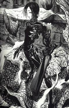 by Tsutomu Nihei Cyberpunk, Blame Manga, Chef D Oeuvre, Manga Artist, Manga Pages, Art Graphique, Manga Comics, Horror Art, Dark Art