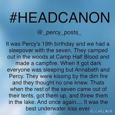 Instagram photo by _percy_posts_ - {My Edit Give Credit}  Ok so this is another random #headcanon I thought of! If you repost please give creds  All of my headcanons are here ➡️ #percypostsheadcanons