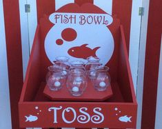 Fish Bowl Toss Carnival Game Target Gallery trade show game Lawn GameCarnival Game baby shower Game Carnival booth Game Birthday game Carnival Booths, Carnival Games For Kids, Carnival Themed Party, Carnival Birthday Parties, Circus Birthday, Birthday Party Games, Party Themes, Sleepover Party, Circus Party Games