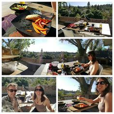 An awesome Virtual Reality pic! Enjoying a lovely dinner on our back patio before getting back to our #virtualreality creation.  #lifestyleblog #sundayfunday #beautiful #topanga #la #mobilephotography #photooftheday #instagood by edgevisual check us out: http://bit.ly/1KyLetq