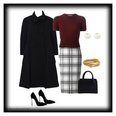 """To the office"" by veronababy ❤ liked on Polyvore featuring Marni, Victoria Beckham, Casadei, Accessorize and Diane Von Furstenberg"