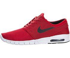 SB STEFAN JANOSKI MAX Nike Herren Mod. 631303-602 Mis. 45 - http://on-line-kaufen.de/nike/red-black-nike-sb-stefan-janoski-max-schuhe-631303-9
