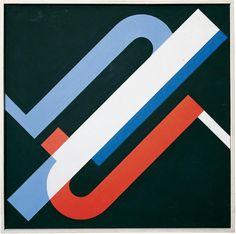 Walter Dexel Tempera, Abstract Shapes, Geometric Art, Op Art, Online Katalog, Frank Stella, Pattern Recognition, Museum, Ink Painting