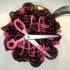 Hair Affair Wreath by Rita