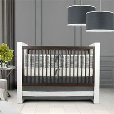 Sticks 3pc Crib Set, unisex, gender neutral, nursery