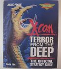 X-COM Terror from the Deep - Official Strategy Guide by David Ellis - Microprose - http://video-games.goshoppins.com/video-game-strategy-guides-cheats/x-com-terror-from-the-deep-official-strategy-guide-by-david-ellis-microprose/
