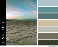 Color Scheme: desert hues