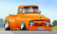 Cars cartoon autos 35 ideas for 2019 Carros Hot Rod, Cool Trucks, Cool Cars, Arte Pink Floyd, Carros Retro, Cool Car Drawings, Caricature, Rock Poster, Truck Art
