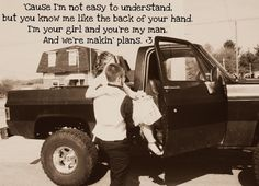 Makin' Plans-Miranda Lambert <3  cause no one knows me like you do...and we both know it  #waitingaroundthisnothingtown