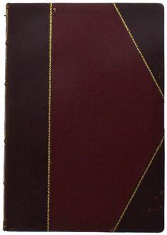 Lote 1526 - Revista, L'America Latina Vista dal Cielo. Encadernação meia de pele francesa com ferros a ouro na lombada. Notas: edição em…