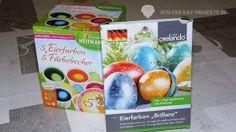 Eierfarben Produkttest - Susi und Kay Projekte