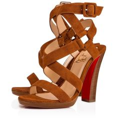 d26ce6bccaa Corsini 120 Cannelle Noce Luc Suede - Women Shoes - Christian... (