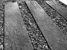 Lonja Para Caminos Old Wood, Jardin, Cemento Simil Madera